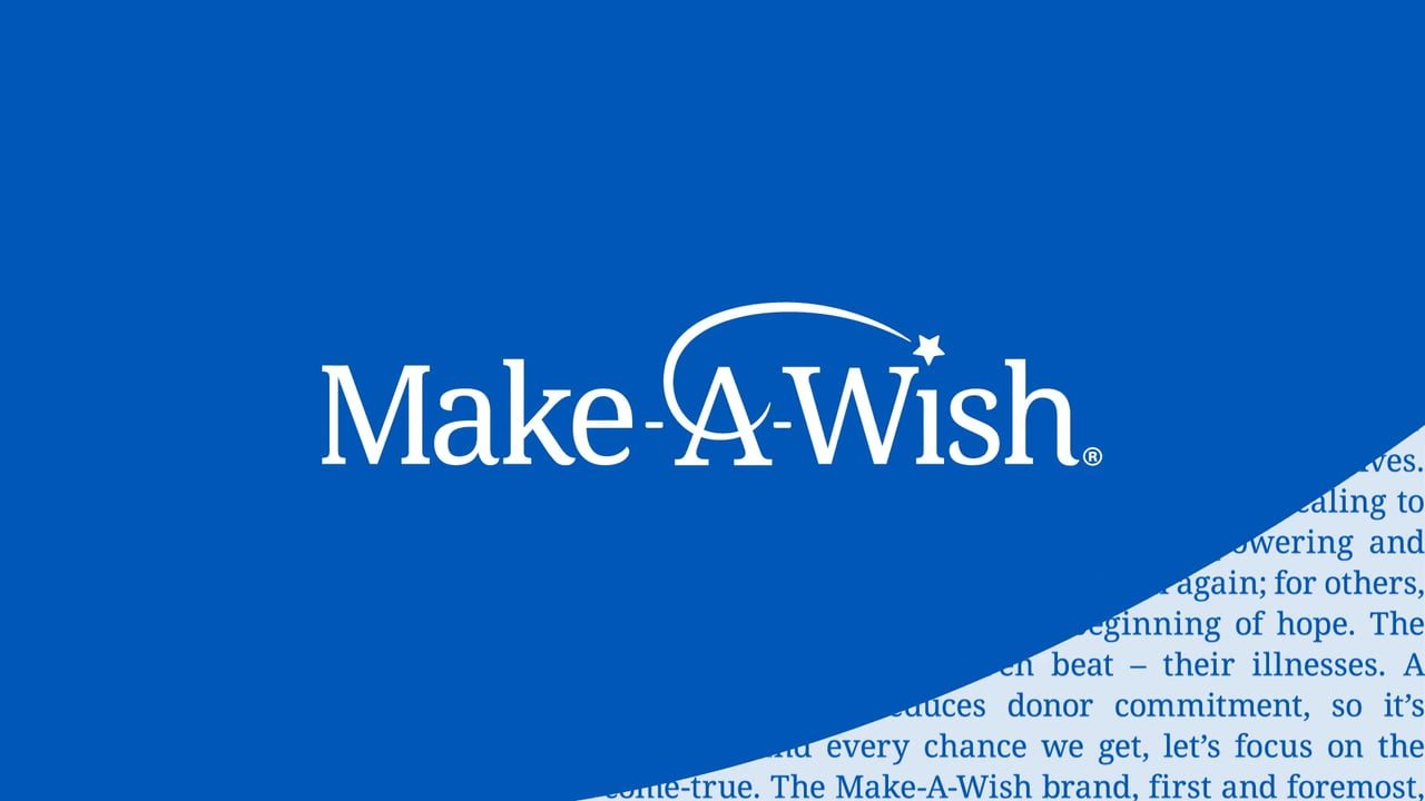 Make-A-Wish Logo Rebrand Announcement